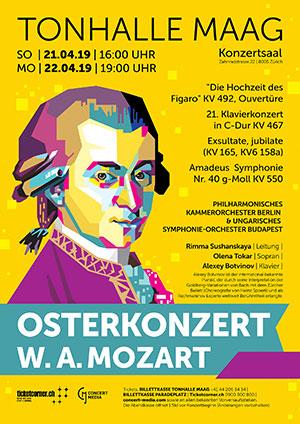 Easter concert: W. A. Mozart
