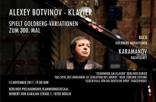 Alexey Botvinov plays in Berlin
