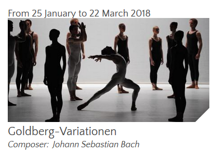 Ballet – GOLDBERG-VARIATIONEN