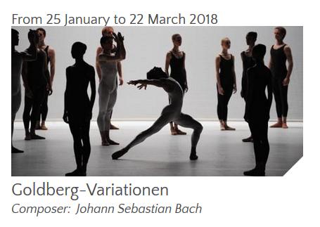 Ballet – GOLDBERG-VARIATIONEN