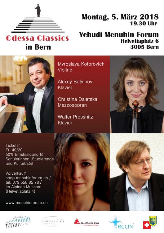 Odessa Classics in Bern