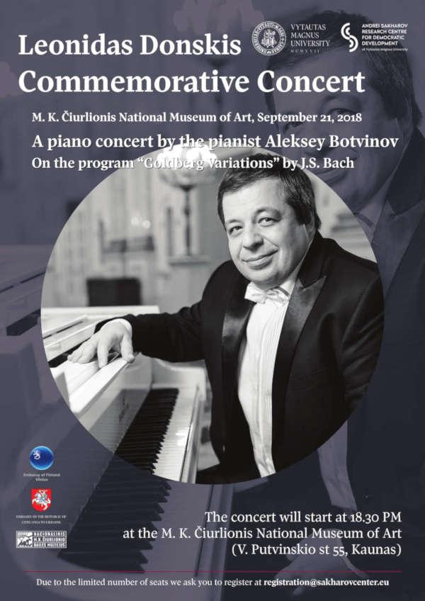 Leonidas Donskis Commemorative Concert