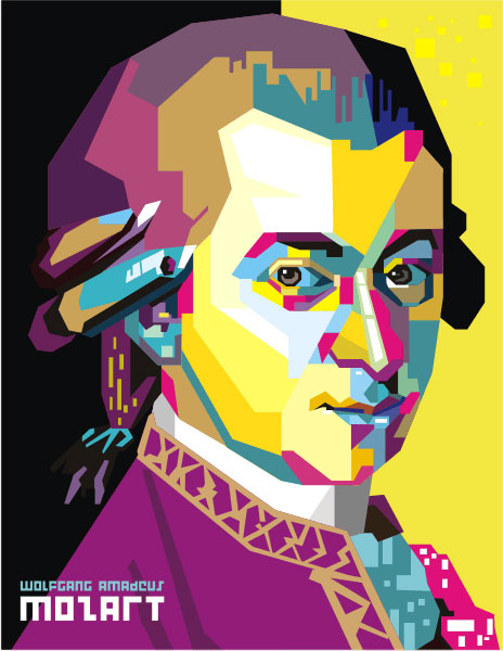 The masterpieces of Mozart