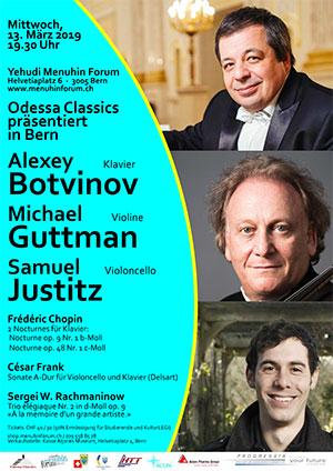 Michael Guttman, Samuel Justitz & Alexey Botvinov